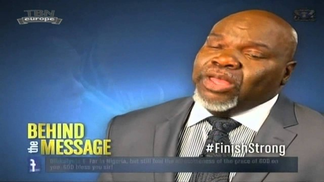 Bishop TD Jakes, Finish Strong (The Behind Message)