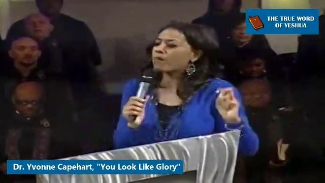 Dr. Yvonne Capehart, You Look Like Glory
