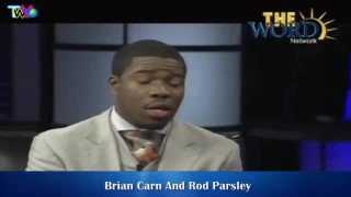 Brian Carn and Rod Parsley