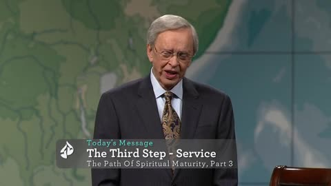 The Third Step : Service