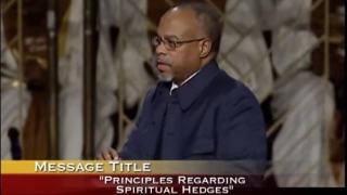 Principles Regarding Spiritual Hedges