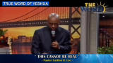 This Cannot be Real, (Pastor  Carlton R. Lee)