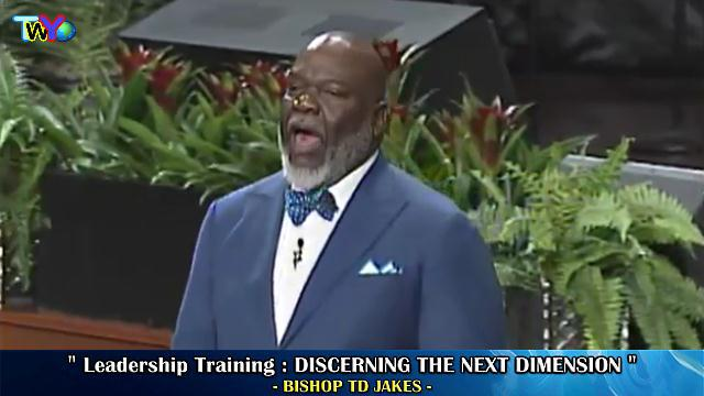 Discerning The Next Dimension (Leadership Training)