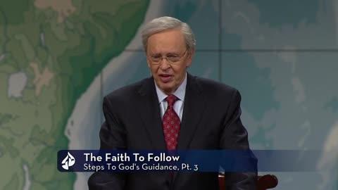 The Faith To Follow : Steps to God's Guidance (3)