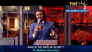 Who Is The King Of Glory ?